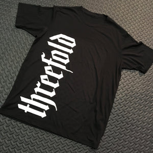 Mens threefold throw down tee