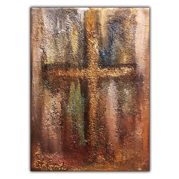 The Cross - Mixed Media