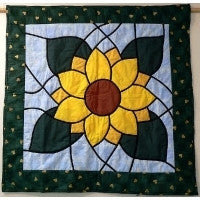 Quilt Tapestry Sunflower