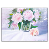 Oil Painting Peonies