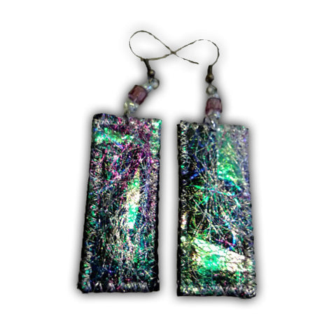 Textile Earrings - Jewelry