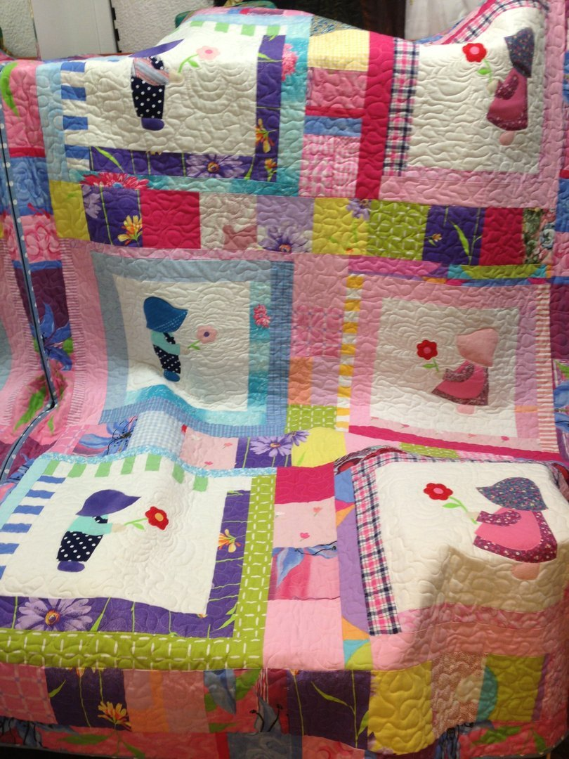 Children's Quilted Blanket - Quilting Paradise