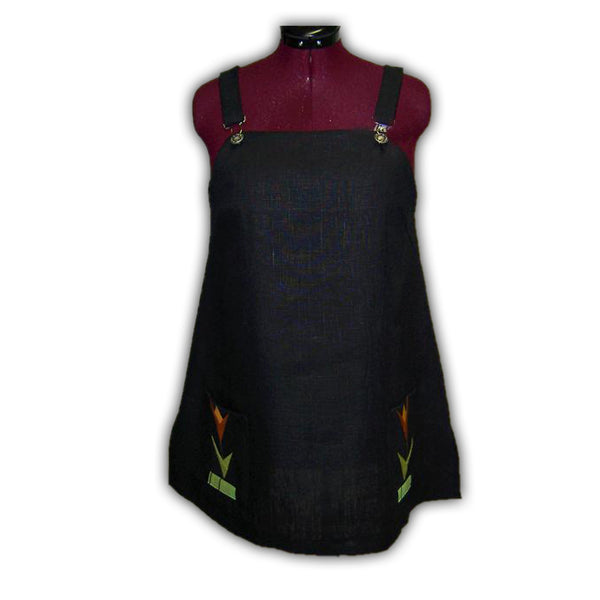 Pellava Liivihame | Linen Pinafore Dress - Clothing