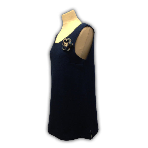 Woolen Pinafore Dress - Wool Clothing