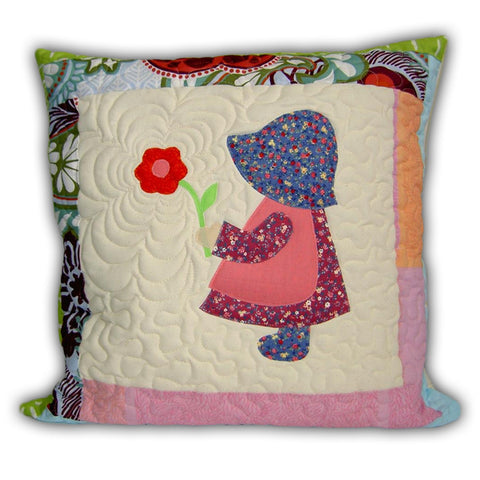 Quilt Childrens Pillowcase A Girl