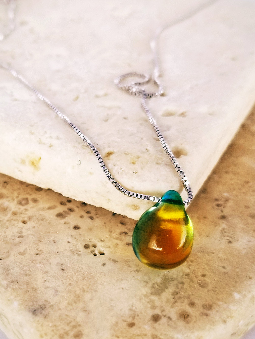 Havasu Falls Teardrop Necklace