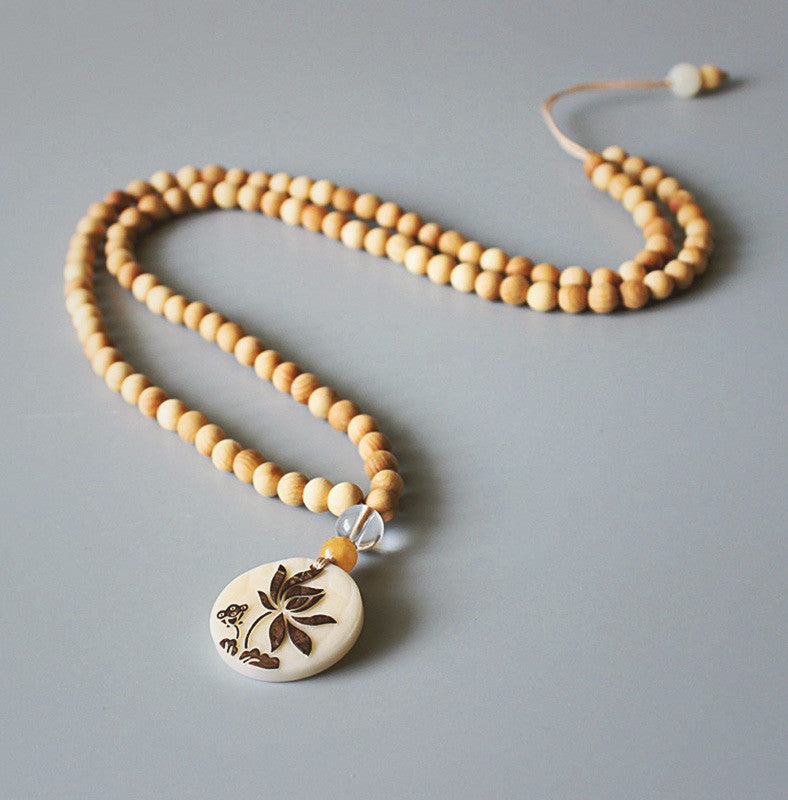 Light Zen Mala Necklace