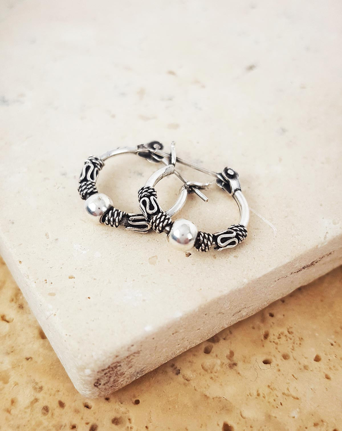 Petite Boho Hoop Earrings
