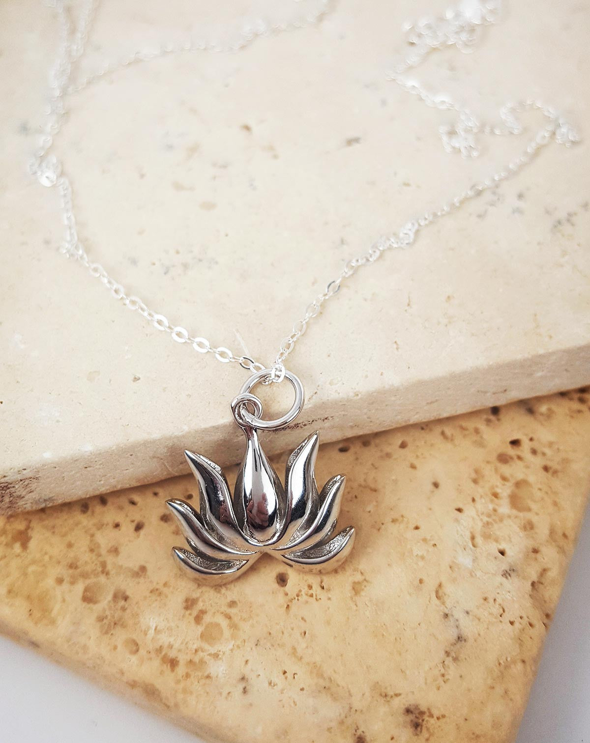 Zen Lotus Necklace