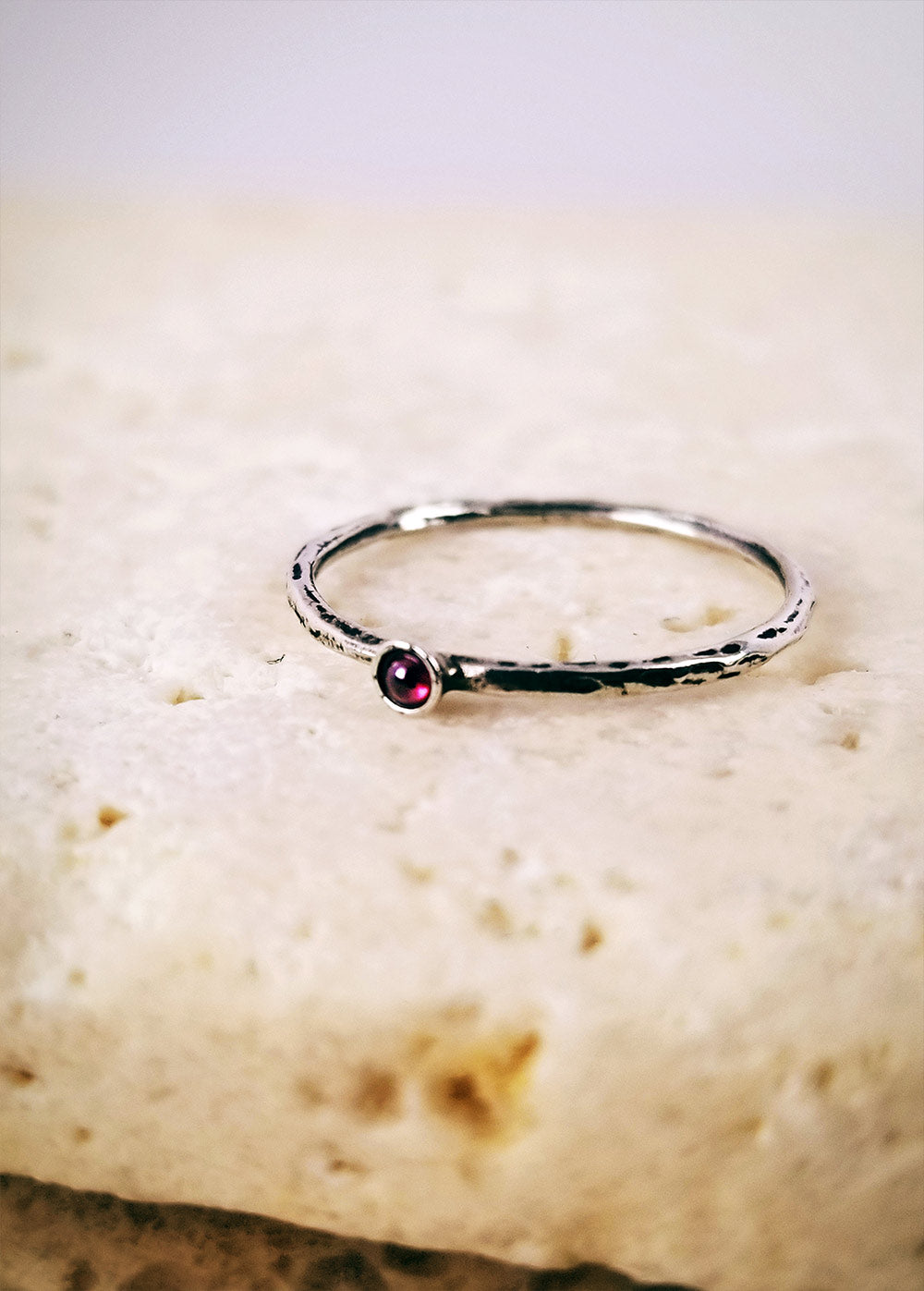 Micro Ruby Ring