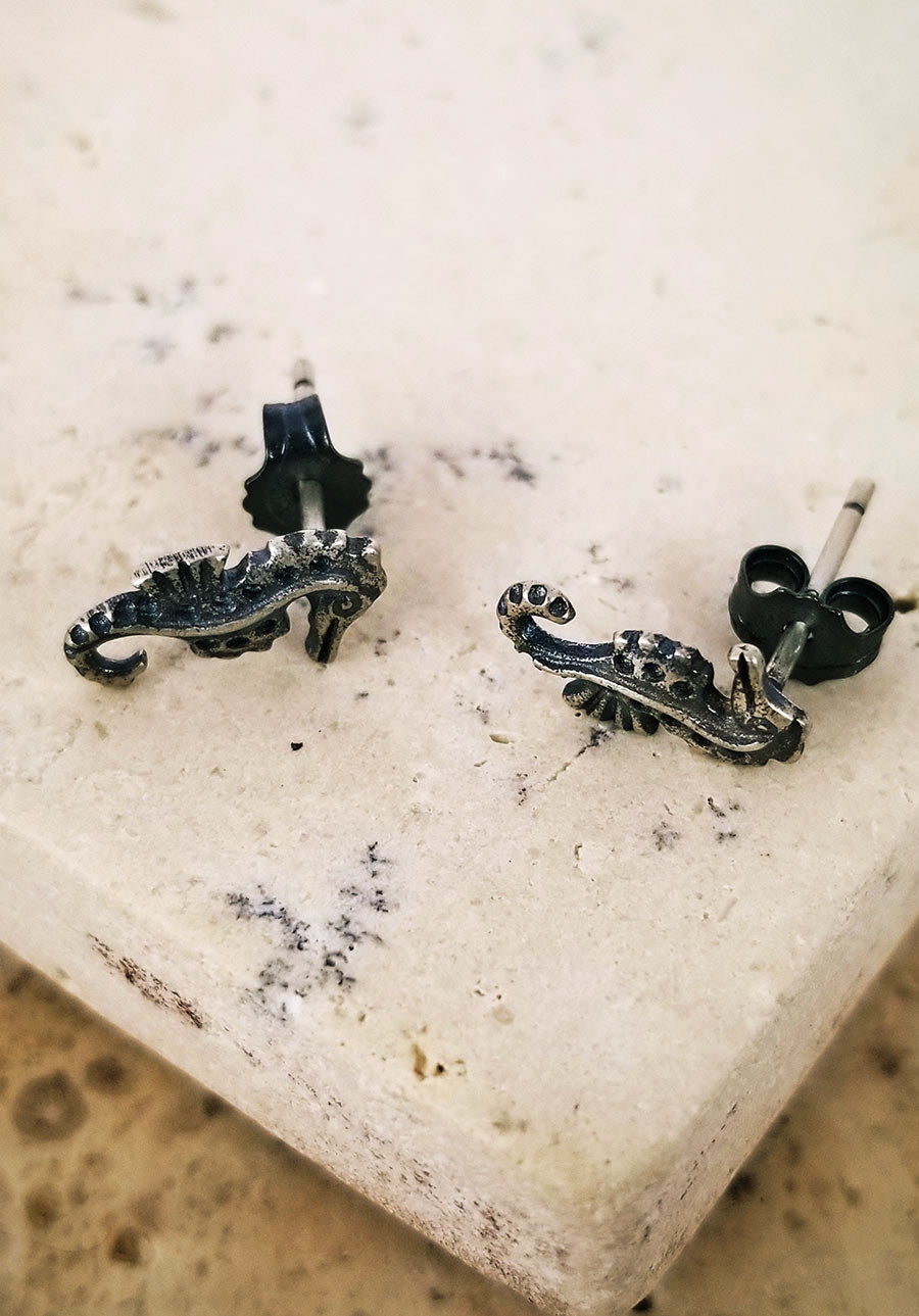 Seahorse Pin Earrings