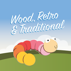 Wood, Retro & Traditional