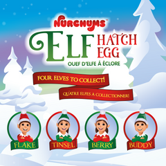 Nurchums Elf hatch eggs collect all 4
