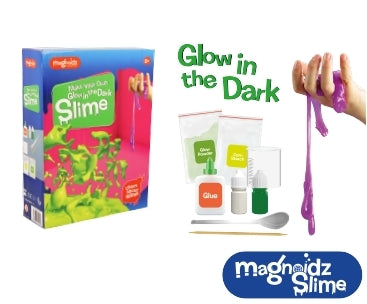 Magnoidz Make Your Own Glow In The Dark Slime Kit