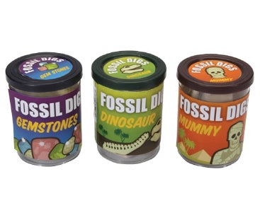 Assorted Fossil Dig in Tub - Keycraft Australia