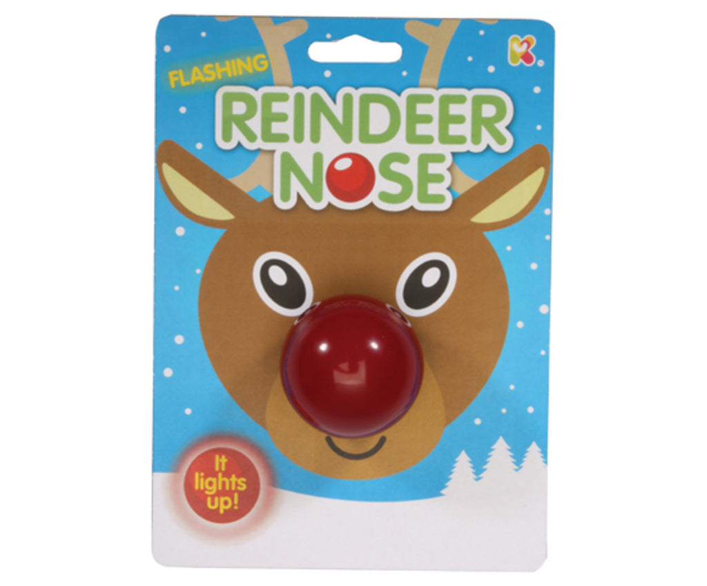Flashing Reindeer Nose