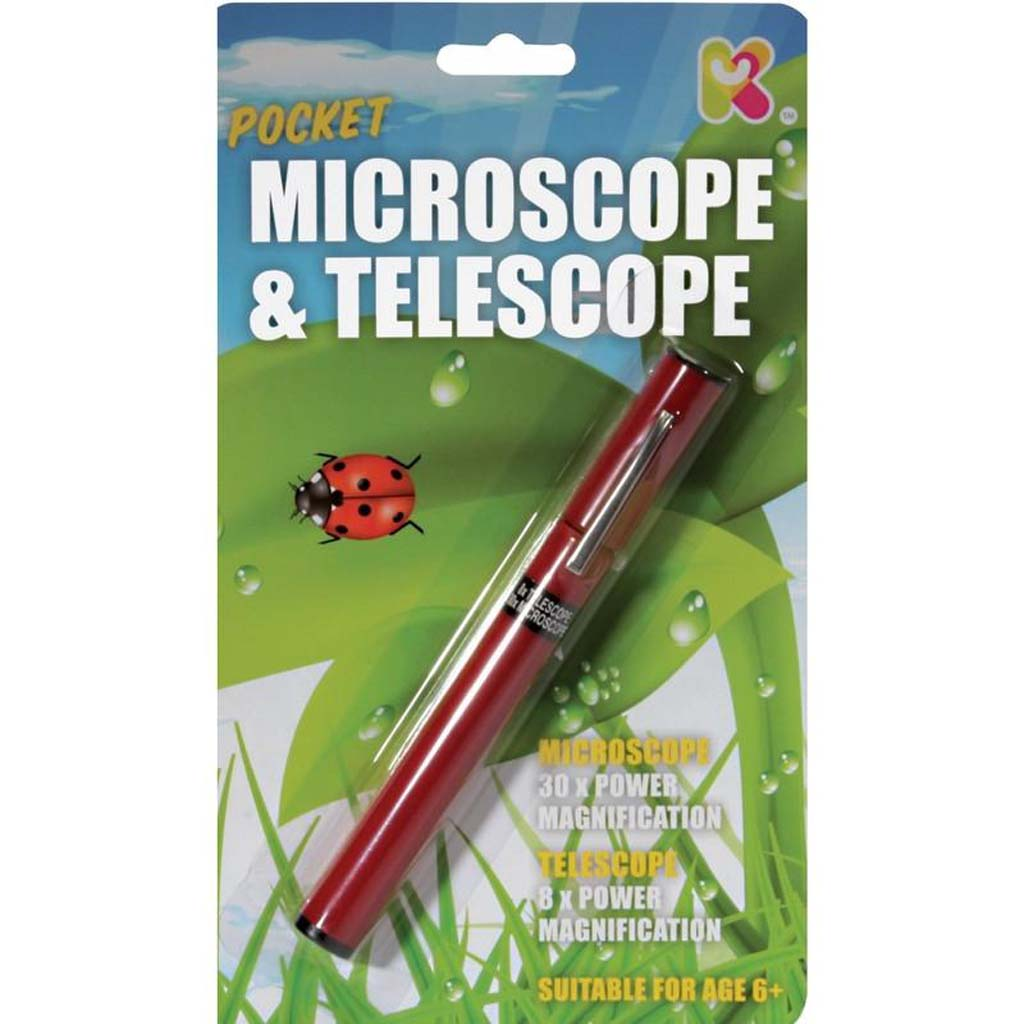 Pocket Microscope/Telescope
