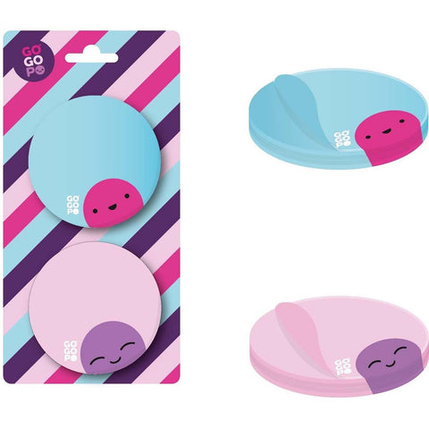 GoGoPo Sticky Notes 2pk