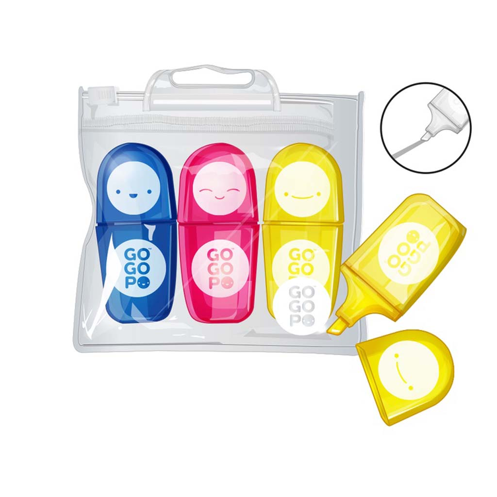 GoGoPo Character Highlighters - Keycraft Australia