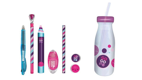 GoGoPo Pink  Milk Bottle Bundle - Keycraft Australia