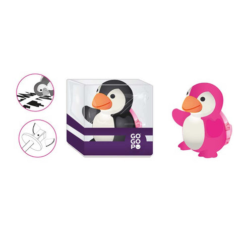 GoGoPo Penguin Eraser and Sharpener - Keycraft Australia