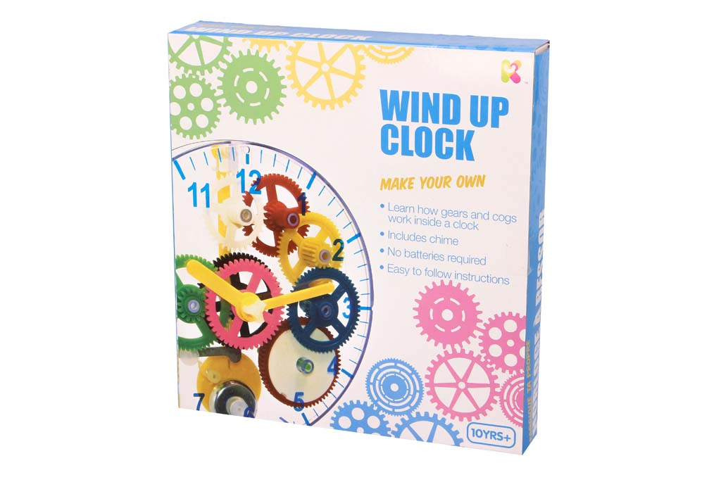 Make Your Own Wind Up Clock - Keycraft Australia