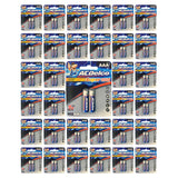 (96-Pack) ACDelco AAA Batteries Alkaline Carded Retail LR03 AAA2 x 48pk FRESH
