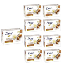Load image into Gallery viewer, (12-Pack) Dove Shea Butter Soap Bar Beauty Mositurizing Clean Bath 4.75oz 135g