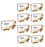 (12-Pack) Dove Shea Butter Soap Bar Beauty Mositurizing Clean Bath 4.75oz 135g