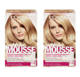 L'Oreal Paris Sublime Mousse by Healthy Look Hair Color 83 Golden Medium Blonde (2-Pack)