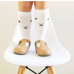 Lamby Knee High Socks