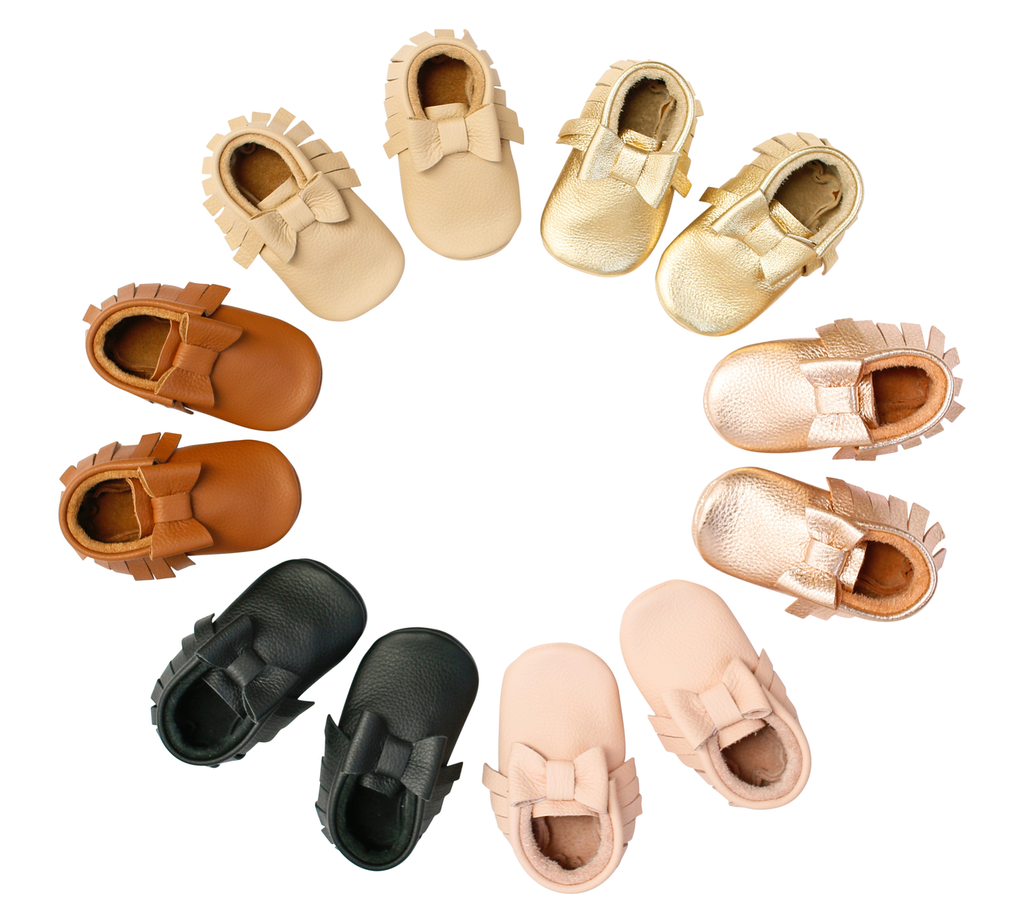 MOCCS - Classic Bow Moccasins [handmade]