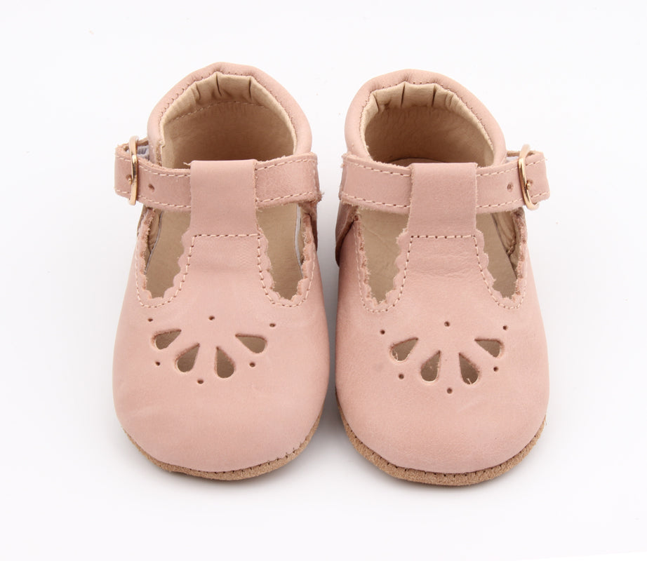 Petal Tbar Soft Sole - Pale Pink [preorder]