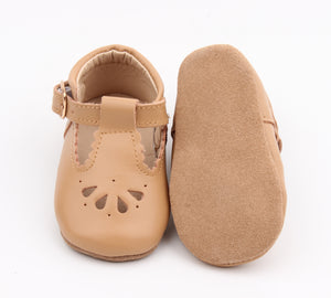 Petal Tbar Soft Sole - Tan [preorder]