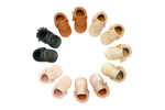 MOCCS - Traditional Fringed Moccasins