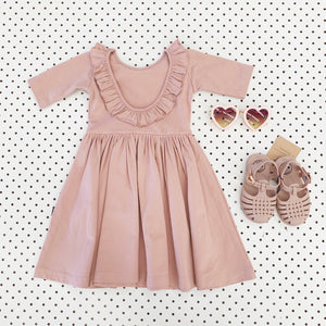 Margot Ballet Dress - Misty Rose