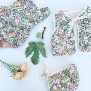 The Liberty Vintage Romper - Vintage Thorpe H [Limited Edition]