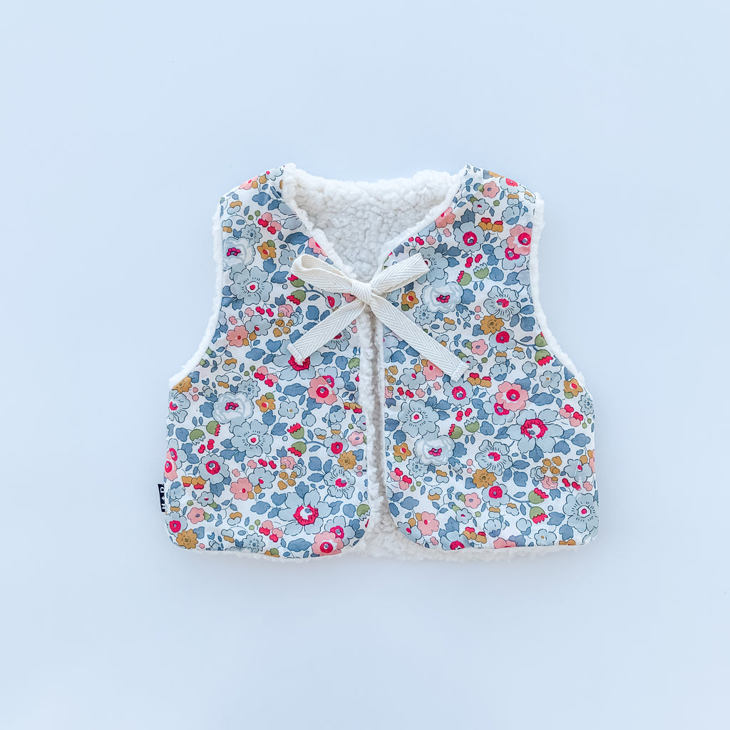 The Liberty Baby Gilet  - Betsy