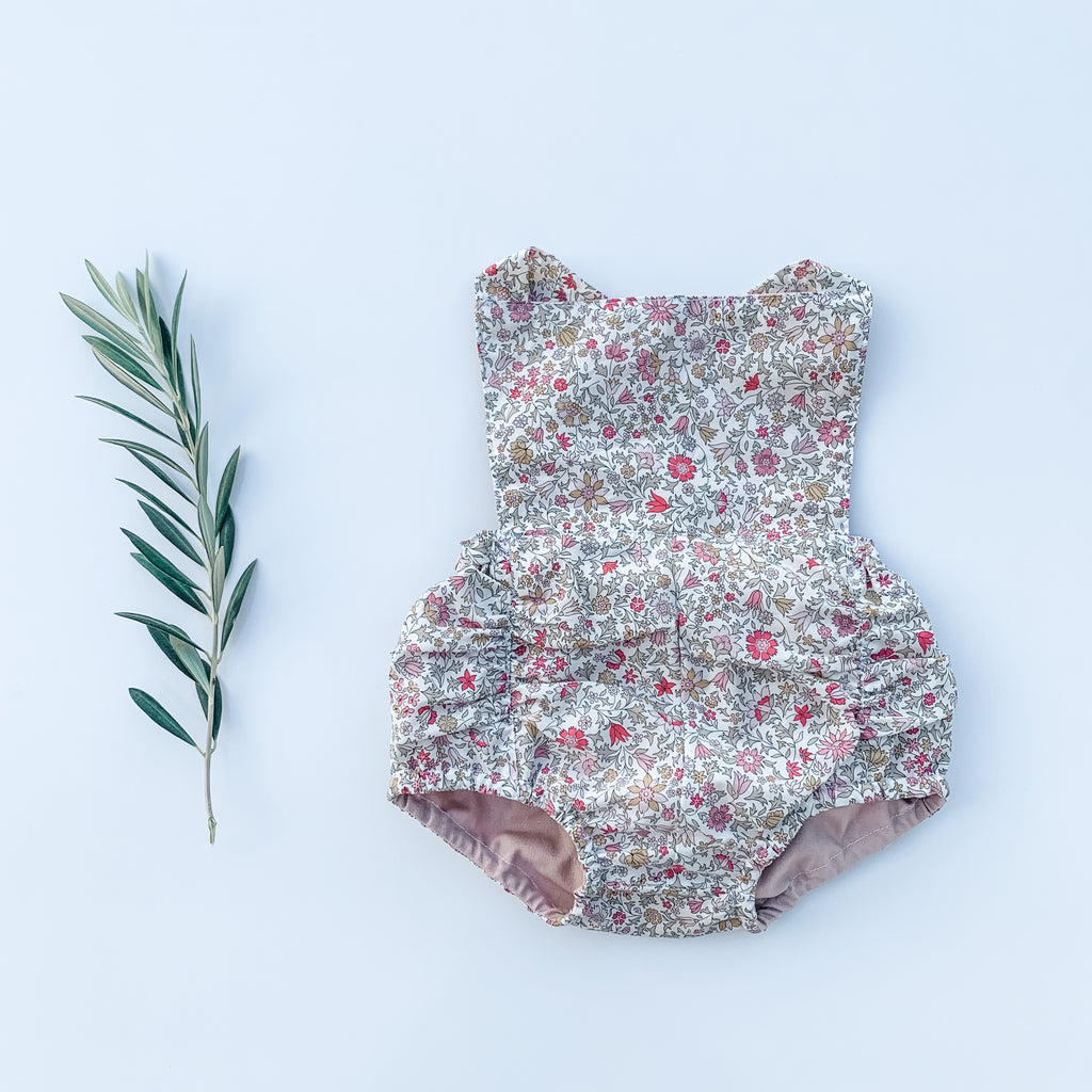 The Liberty Vintage Romper - 'Godington Park A'