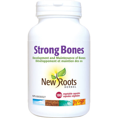 New Roots Strong Bones 180 Vegetarian Capsules