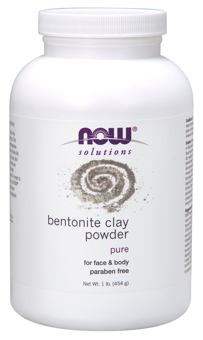 Now Clay Bentonite Powder 454g