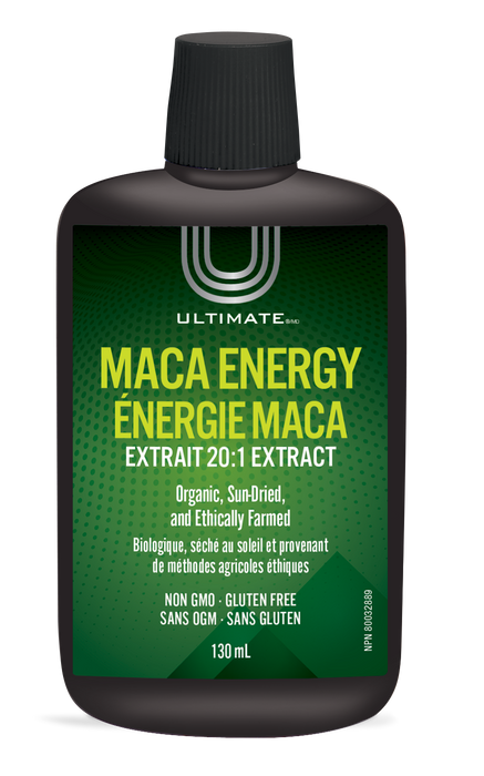 Ultimate Maca Energy 20:1 Extract 130ml