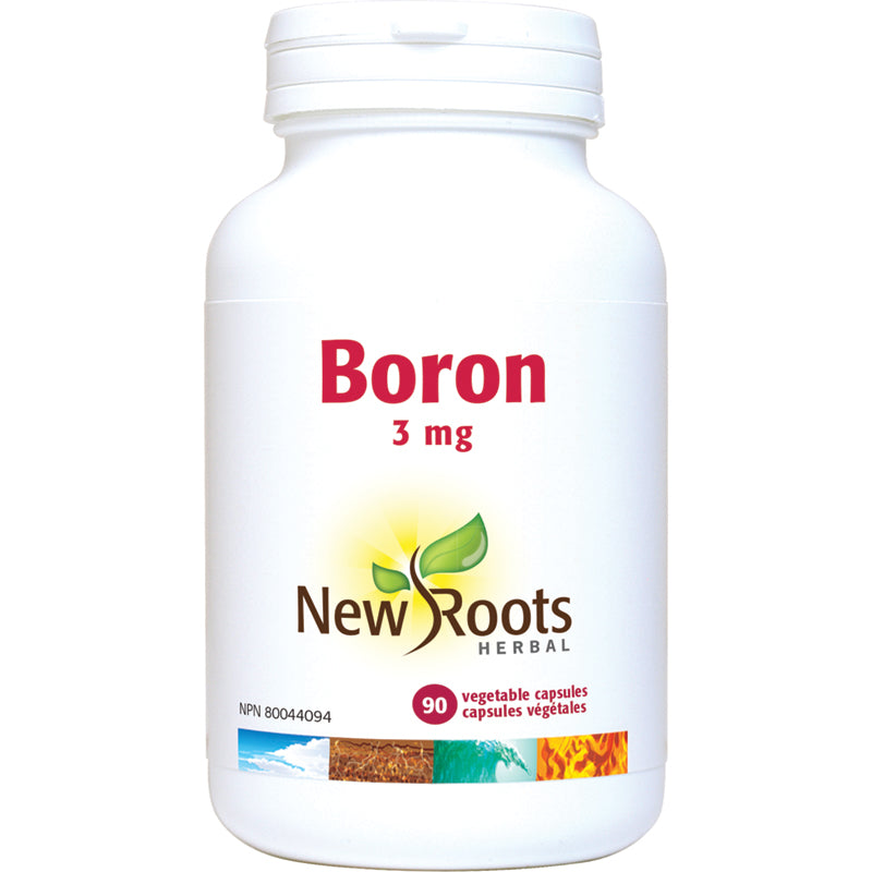 New Roots Boron 3mg 90 Vegetarian Capsules