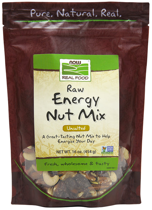 Now Raw Energy Nut Mix 454g