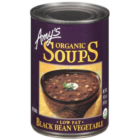 Amy's Organic Black Bean Vegetable 398ml