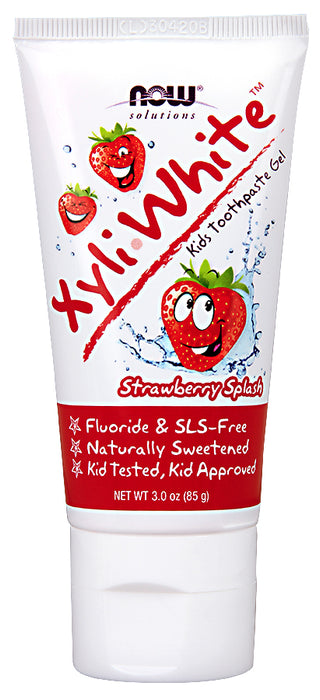 Now Kids Xyliwhite Strawberry 85g