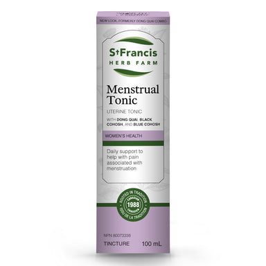 St. Francis Menstrual Tonic 100ml (Formerly Dong Quai Combo)