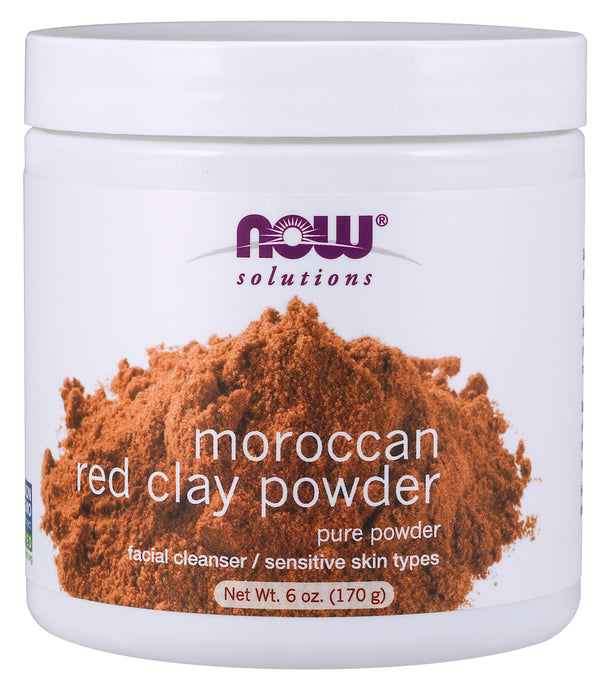 Now Moroccan Red Clay Powder 170g