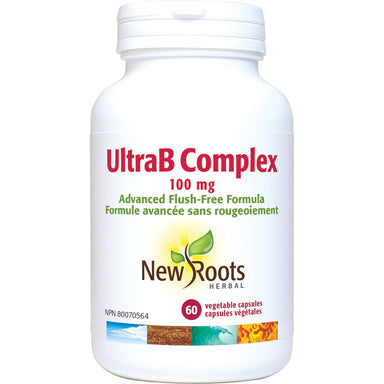 New Roots Ultra B Complex 100mg 60 Vegetarian Capsules