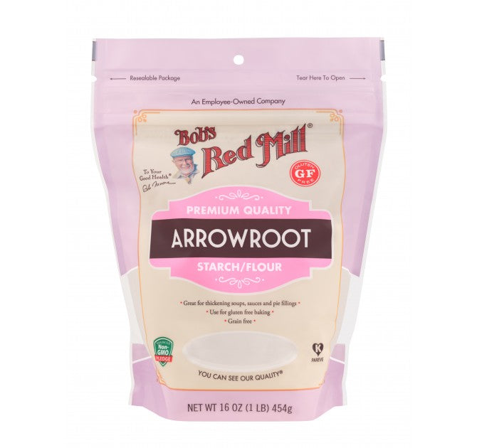 Bob's Red Mill Arrowroot Starch/Flour 454g